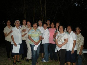 Good Shepherd Sisters with staff from Baguio