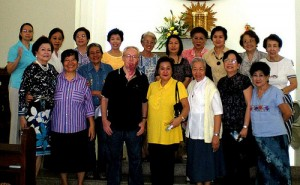 Lay Affiliates of the Good Shepherd with Sr. Marion, Sr. James and SVD priest